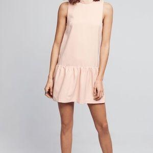 HD in Paris blush pink drop waist dress